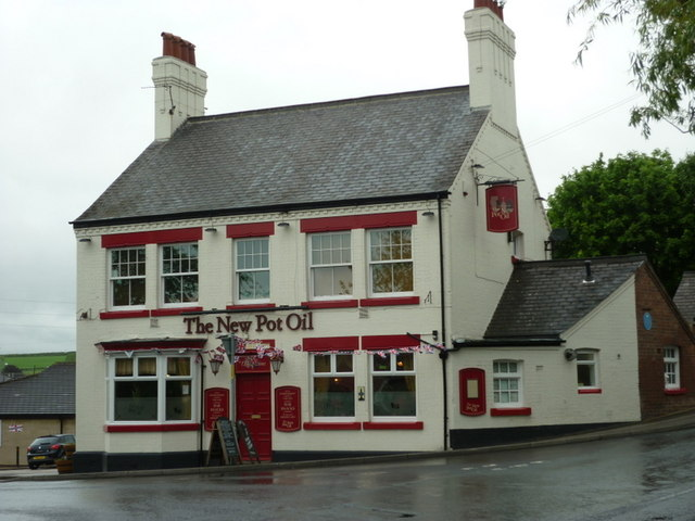 The New Pot Oil public house, Wrenthorpe