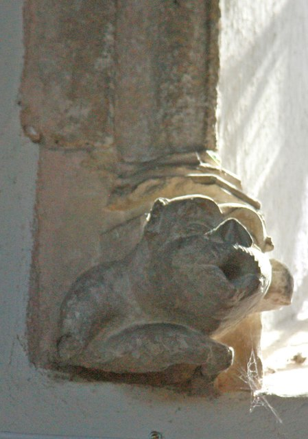 St Mary, Roughton - Corbel