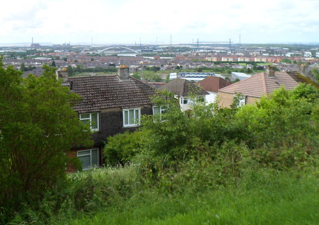 A view from Upper Tennyson Road, Newport