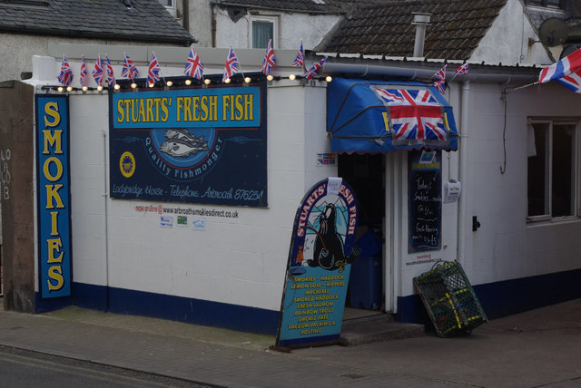 Fresh fish shop, Arbroath