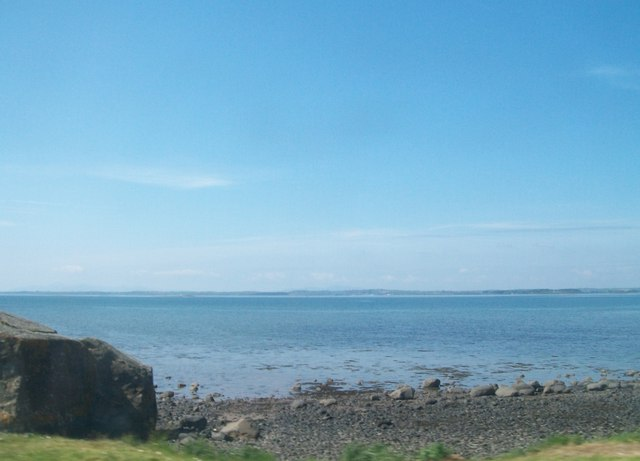 The eastern shore of Strangford Lough south of Greyabbey