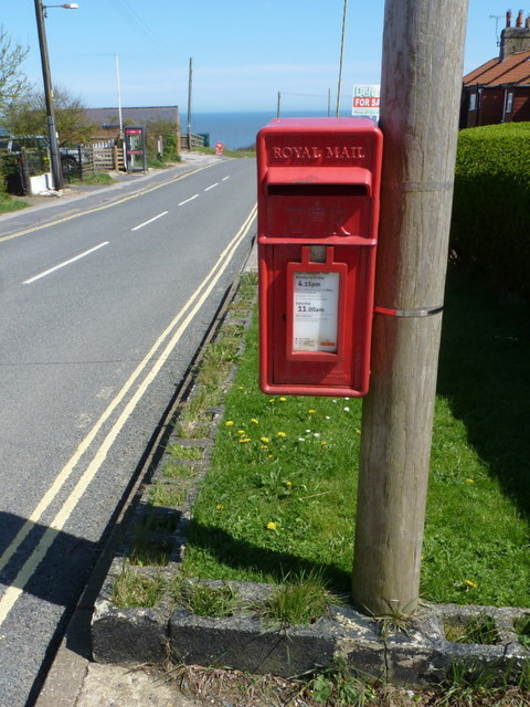 Flamborough: postbox № YO15 41, Flamborough Head