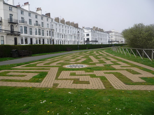 Filey: a maze in the gardens