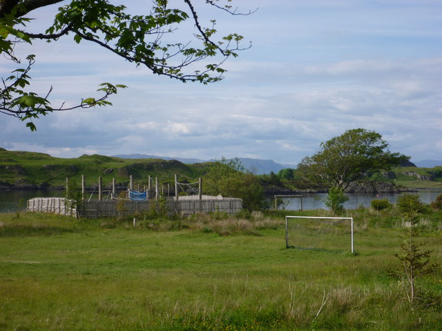 Coastal Argyll : Adventure Playground at Kilbowie Outdoor Centre, near Oban