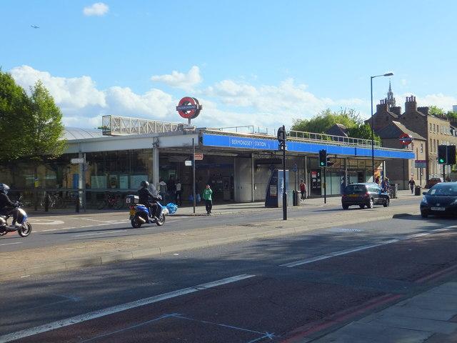 Bermondsey Underground Station