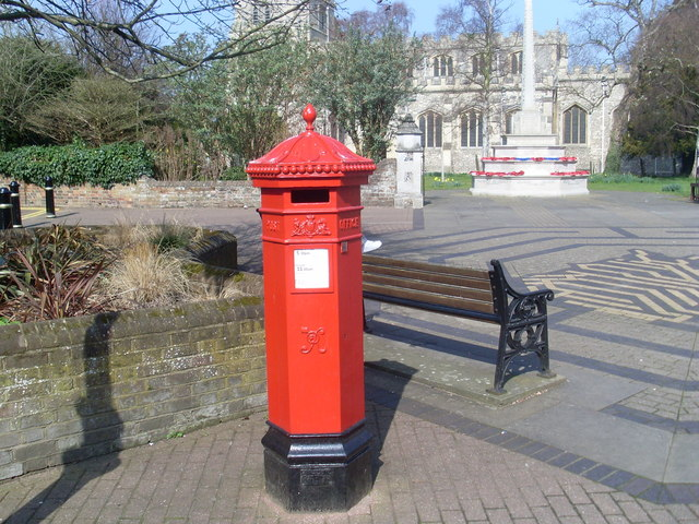 Hexagonal Pillar Box, Tring