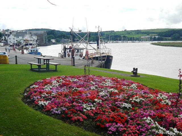 The Fishing Fleet at Kirkcudbright