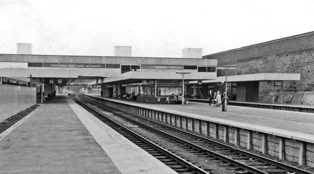 Coventry Station, newly rebuilt