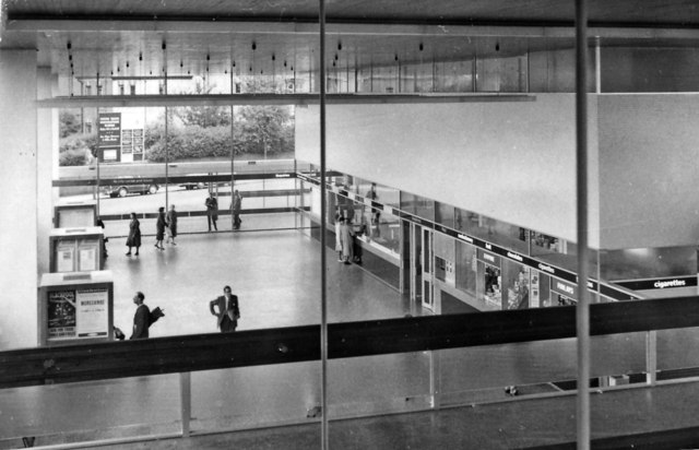 Coventry Station concourse, from interior