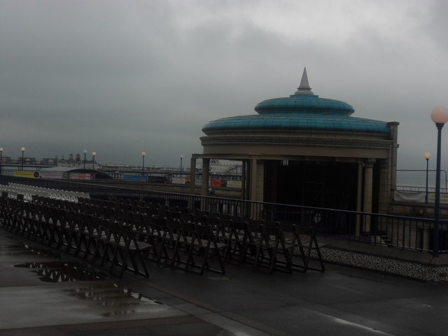 Bandstand on Eastbourne Seafront