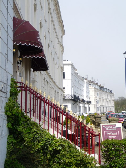 Filey: The Crescent frontages