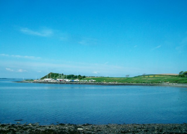 View northwestwards across Kircubbin Bay