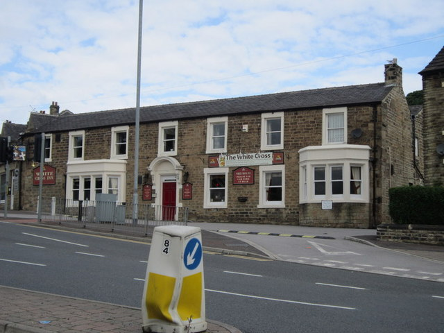 The White Cross public house on Bradley Road