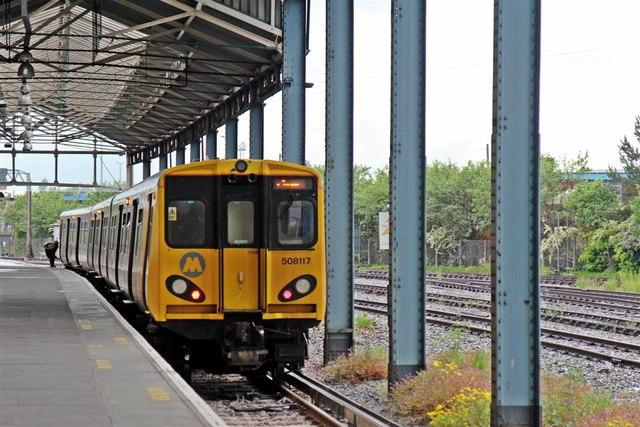 Train To Liverpool Chester Railway 169 El Pollock Geograph Britain And Ireland