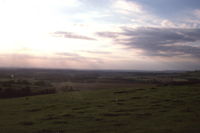 Farthing Common: view towards Romney Marsh
