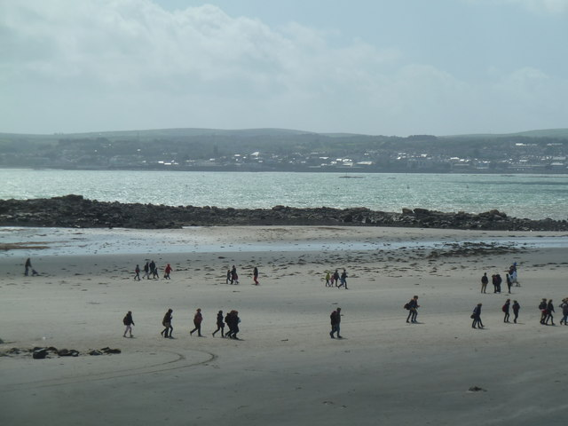 Windy beach - Marazion