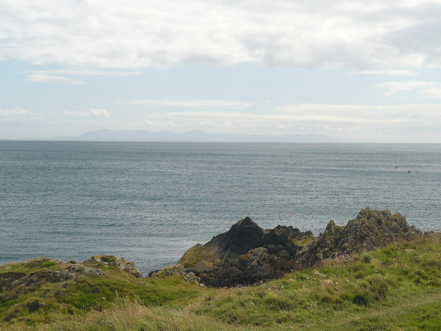 The Isle of Man from The Isle of Whithorn