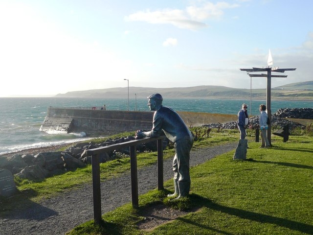 Sculpture by Andrew Brown, Port William