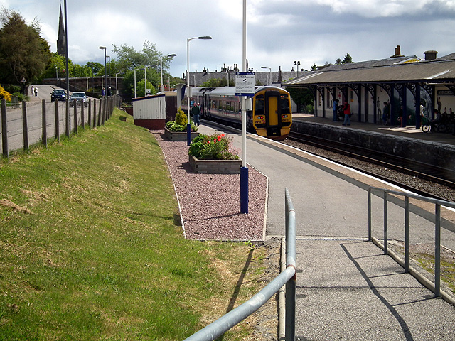 Waiting at Invergordon