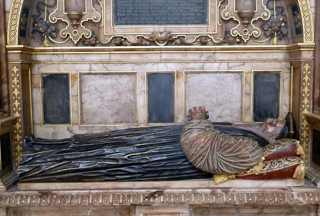 Tomb of Bishop William Cotton