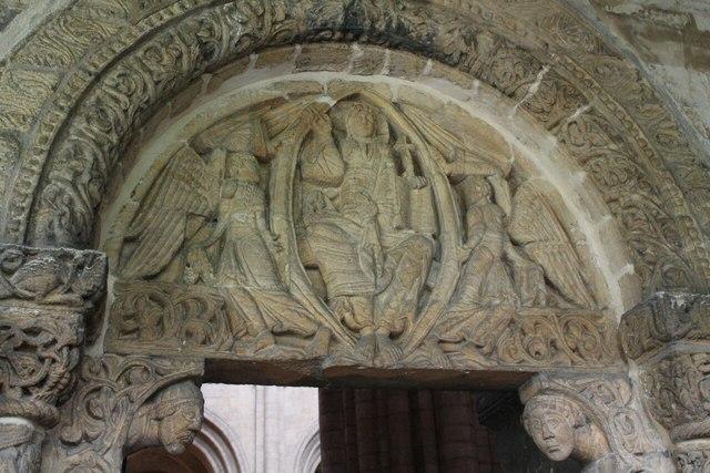 Tympanum and carvings south prior door j hannan