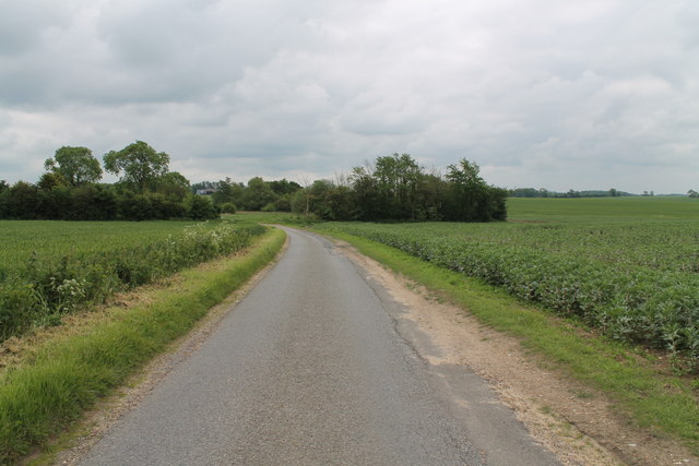 Road from Holton-cum-Beckering to West Torrington