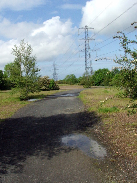 Path showing residents