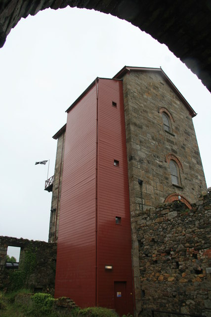 Taylor's Shaft pumping engine house