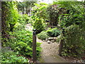 TQ3282 : St Joseph's Garden, Lamb's Passage by David Hawgood