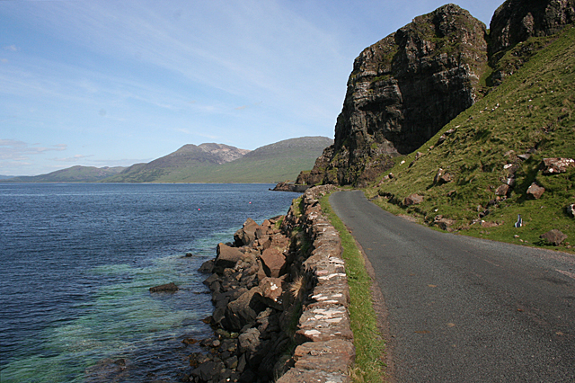 Where the Road meets the Cliffs