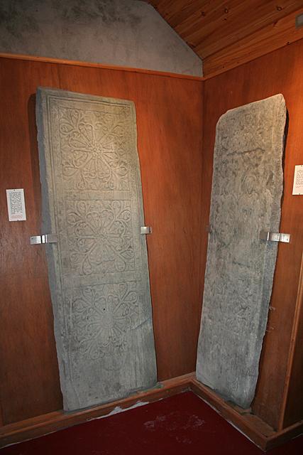Carved Stones at Kiel Kirk