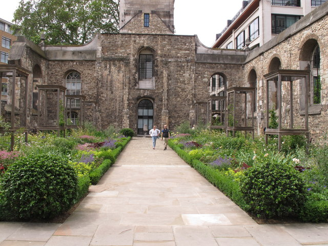 Christchurch Greyfriars Rose Garden