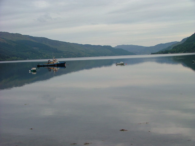 Boats on Loch Duich