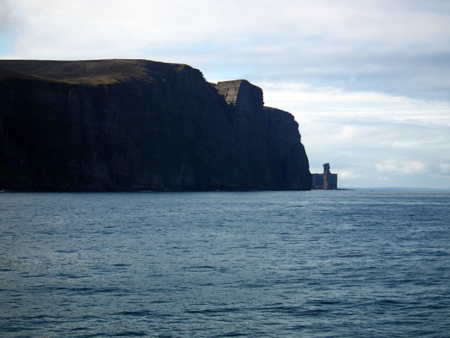 The Old Man of Hoy and St John's Head