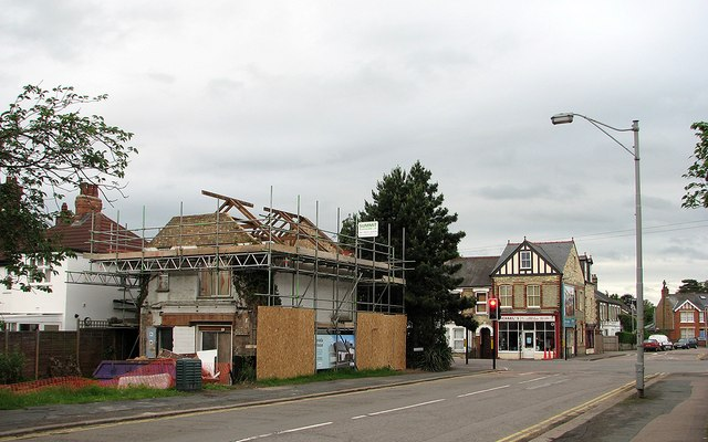 Coleridge Road: roof removed