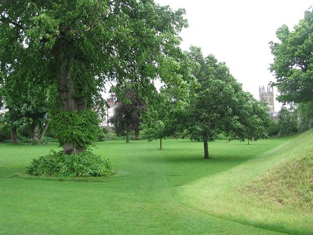 Fellows' Garden, Merton College