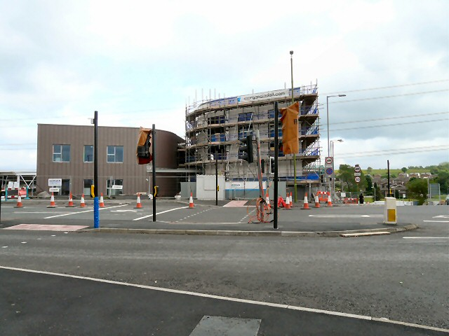 Building work at Hattersley