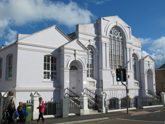 Former chapel, Queen's Park Road / Albion Hill, BN2