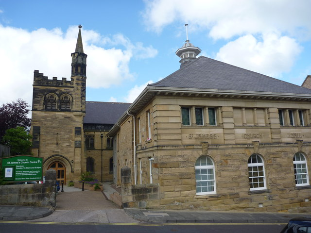 Alnwick Townscape : St James's Church Centre, Pottergate