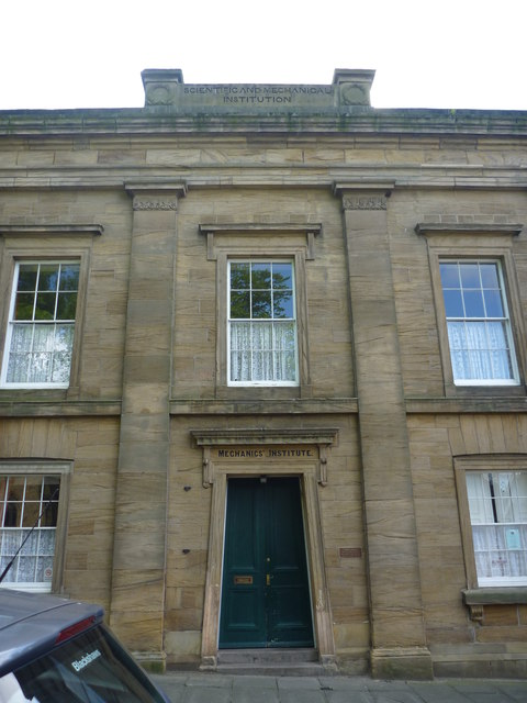 Alnwick Architecture : Mechanics' Institute, Percy Street, Alnwick