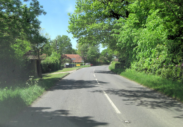 B2099 junction with Stonegate Road
