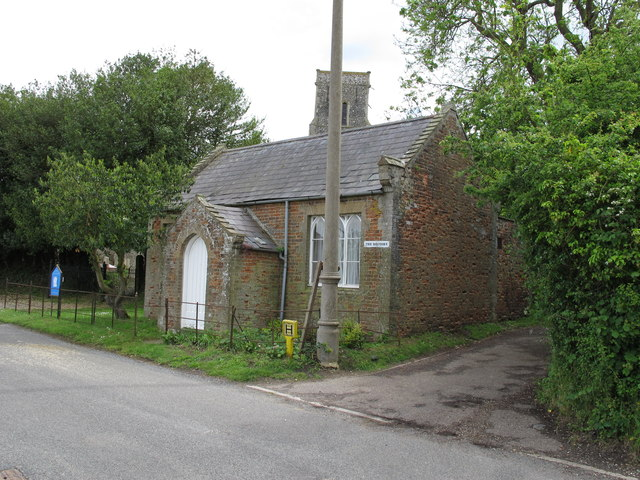 Former meeting hall by All Saints Church