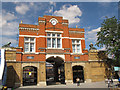 TQ4378 : Woolwich Arsenal Gatehouse by Stephen Craven