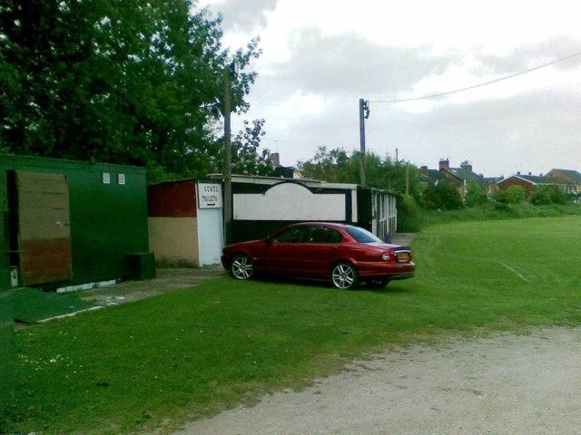 Pavilion behind Lamb Hotel