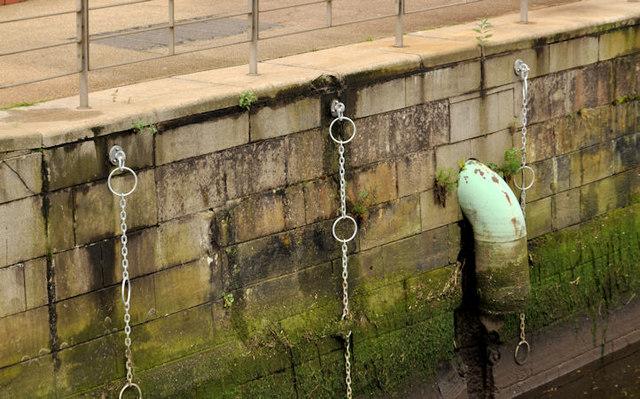 Laganside drain, Belfast