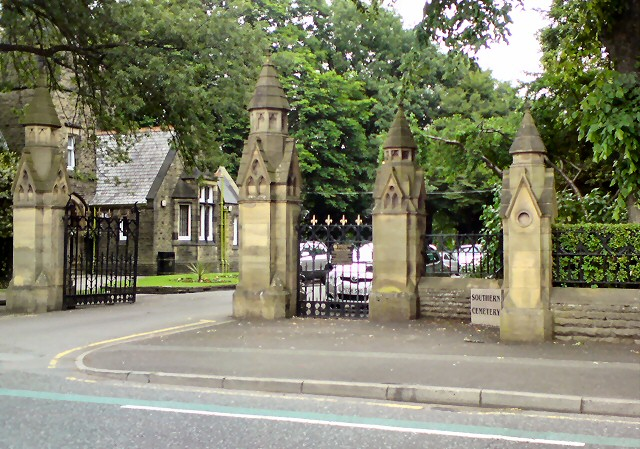 Entrance to Southern Cemetery