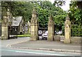 SJ8292 : Entrance to Southern Cemetery by Gerald England
