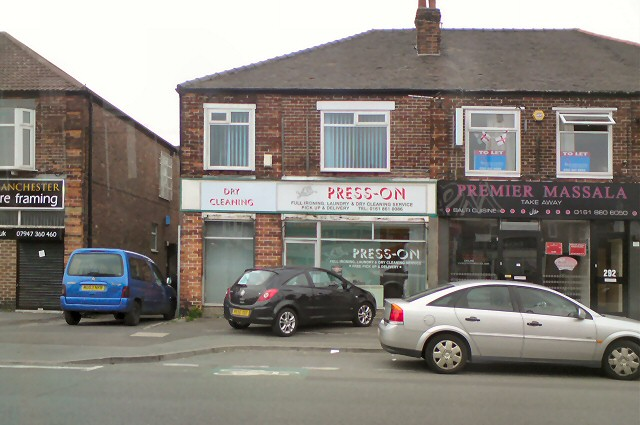 Businesses on Barlow Moor Road