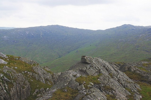 Glen Laudale from Meall an Damhain