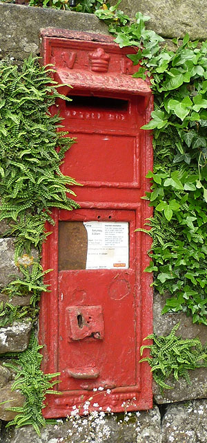 Victorian post box, Stackhouse